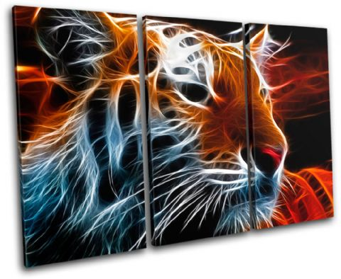 Tiger Abstract wild Animals - 13-0143(00B)-TR32-LO
